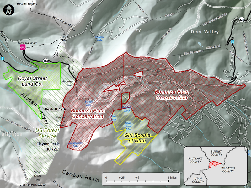 Bonanza Flats Map | Wasatch Backcountry Alliance